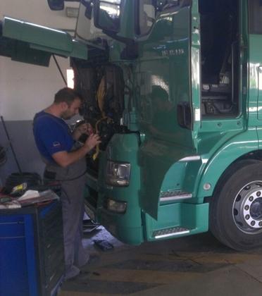 Servisiranje kamiona